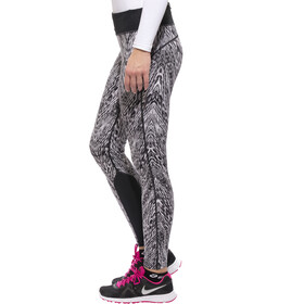 Nike Epic Mallas con impresión Mujer, black/mslvr